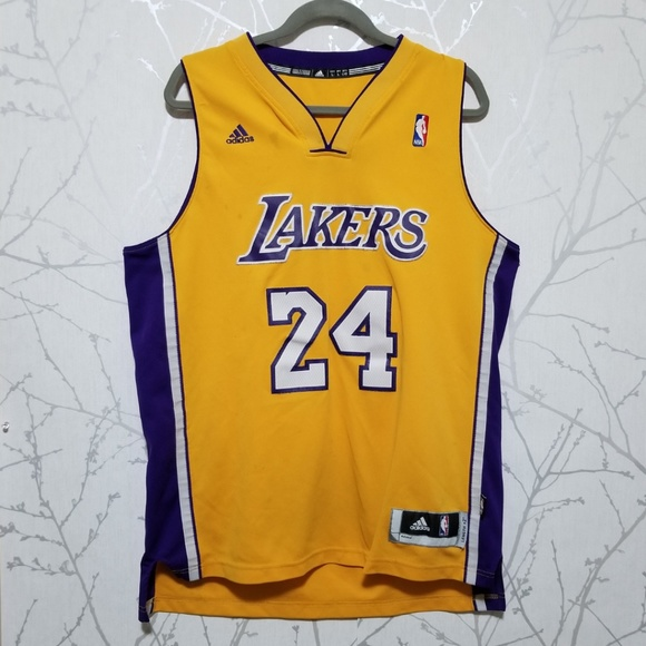 new arrivals 98c4b be097 Adidas Lakers Kobe Bryant Jersey | AS IS (Stains)